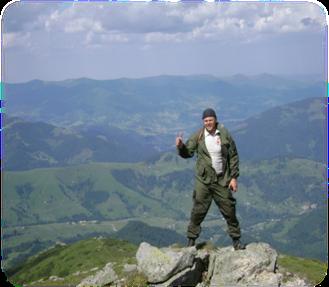 Спуск до с. дземброня через гору